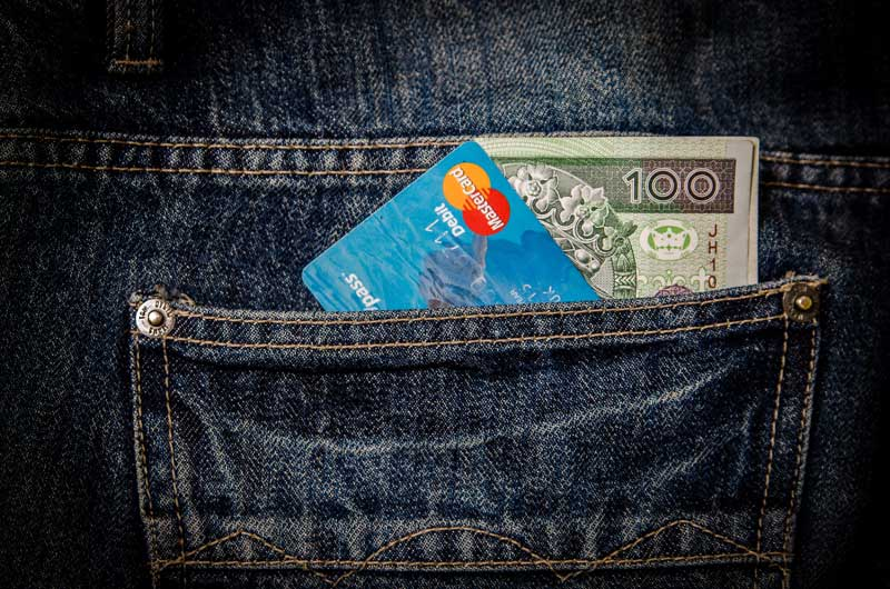 cash and debit card for consumer pci compliance