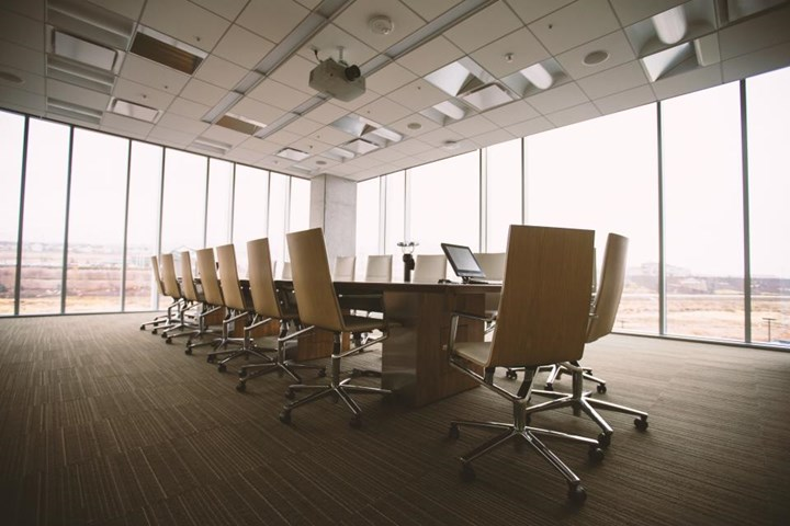 an empty boardroom waits for a business case for omnichannel engagement
