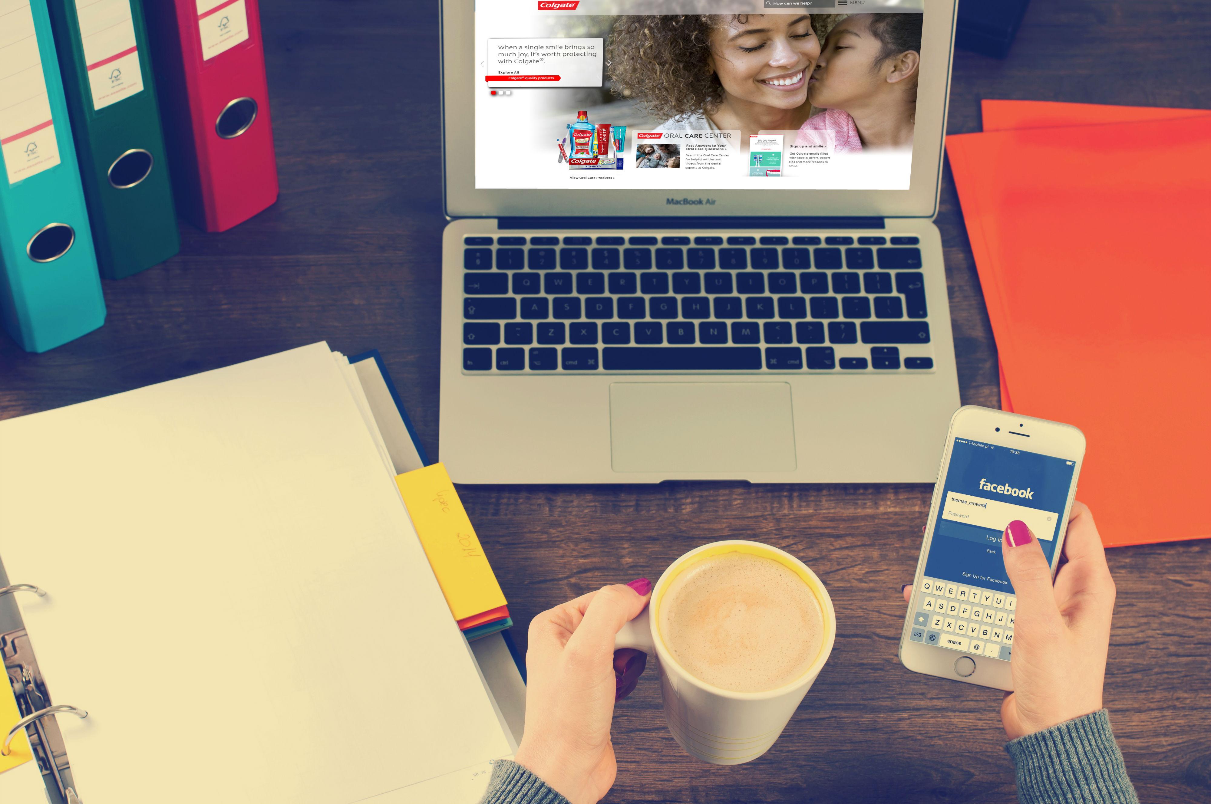 Customer using multiple channels like web and social media