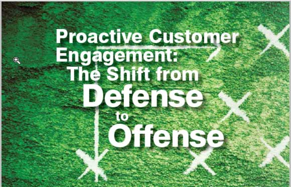 proactive customer engagement crm magazine article