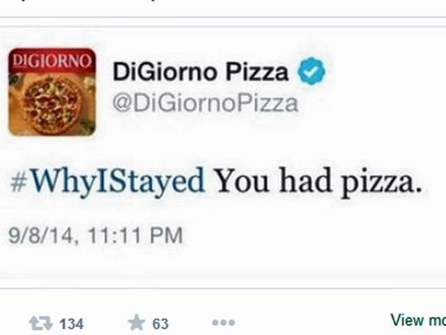 DiGiorno's tweet