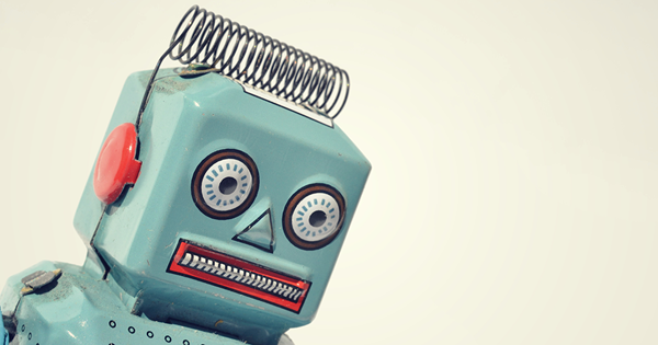 robot representing customer service trends chatbots