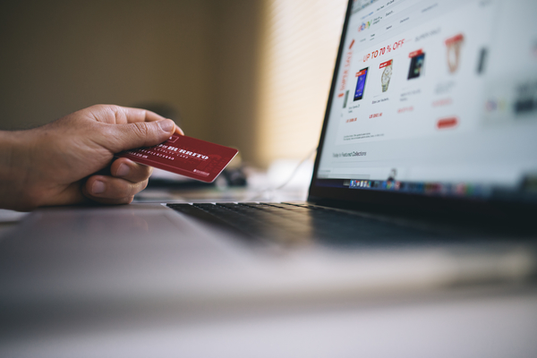 buying with a credit card