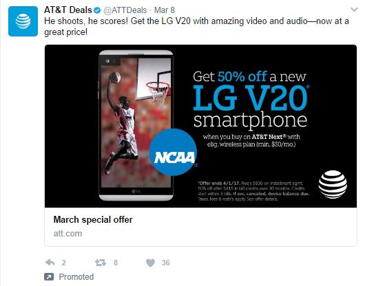 ATT Twitter Ad