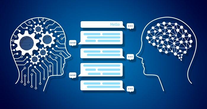 chatbot conversation graphic