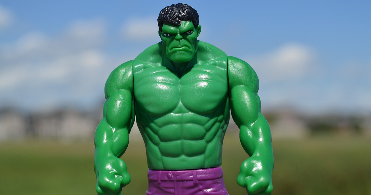 incredible hulk is unhappy with customer service