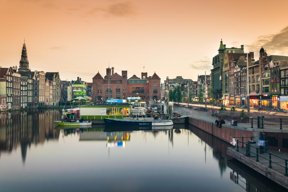amsterdam netherlands canal