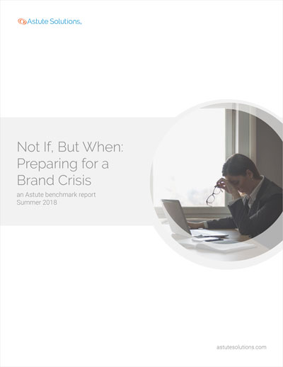This industry benchmark report explores how business leaders are preparing and responding to various brand crises, discussing the most prevalent threats, benchmark trends, and best practices to protect your brand when the next crisis rears its ugly head.