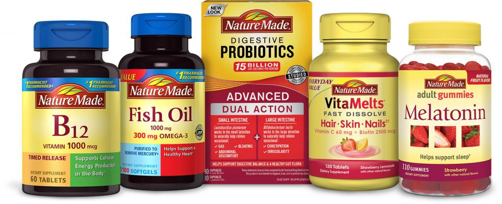naturemade vitamins from pharmavite products