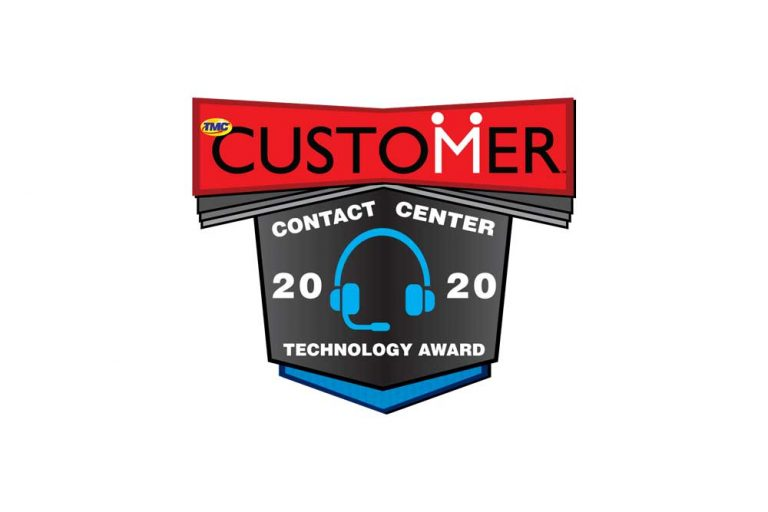 customer contact center 2020 technology award for astute email virtual assistant