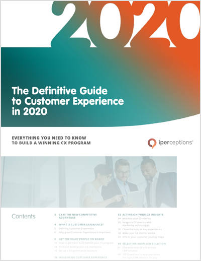 definitive guide to customer experience in 2020