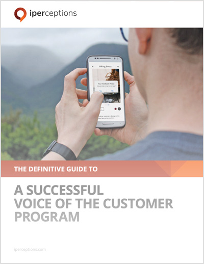 The Definitive Guide to a Successful Voice of the Customer Program thumbnail