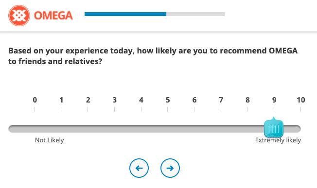 Example of CSAT Survey Question, Net Promoter Score