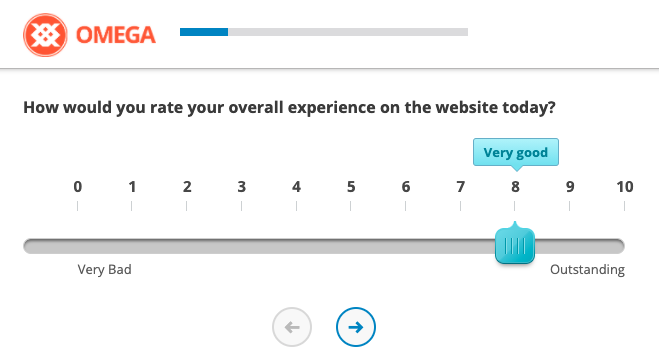 Example of CSAT Survey Question, Overall Satisfaction