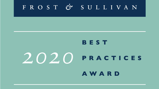 frost and sullivan 2020 best practices award