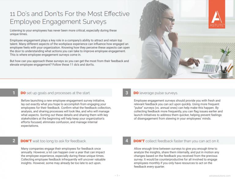 tips for employee surveys cover